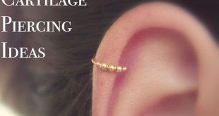 Andromeda Opal Ring Ear Piercing