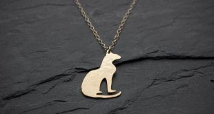 Cat necklace egyptian jewelry cat lover gift dainty necklace minimalist jewelry simple necklace gift for her nature necklace
