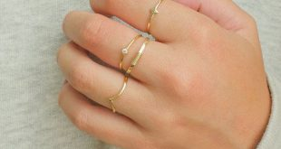 Dainty stacking rings - minimal gold ring set - everyday rings - unique stacking rings - minimalist stacking rings - silver ring set