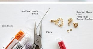 How to Make Super Trendy Seed Bead Bracelets in Minutes