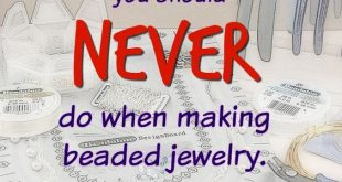 This is just what you need to know when making jewelry! ...