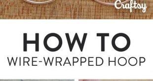 You NEED These Easy DIY Hoop Earrings