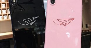 #Cartoon #Paper #Plane #Moon #Stars #PhoneCase For #iPhone