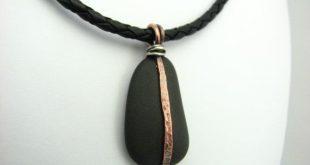 soldering beach stone jewelry - Google Search - discount mens jewelry, mens silv...