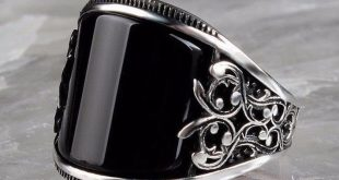 Details about Turkish 925 Sterling Silver Special black onyx stone mens man ring ALL SİZE us