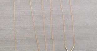 Looking for simple short necklaces to add some detail to causal/date night outfi...