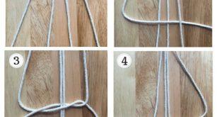 25 + › DIY Macrame Plant Hanger, Macrame-Knoten, Square Knot, wie man Makramee …