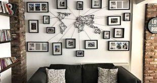 Diese Weltkarte aus Metall ist die perfekte Ergänzung für Ihre Wohnungseinrich...