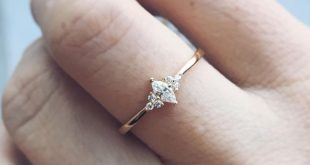 Simple classic beauty. Marquise diamond Ring from Tippy Taste now at LocalEclect...