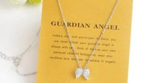 Angel Wings Necklace Charm Jewelry