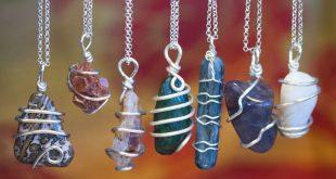 Chakra Stone Wire Wrap Ne