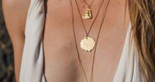 Collier tendance 2019 - Bijoux fantaisie tendance cadeaux pas cher - #Bijoux #ca...