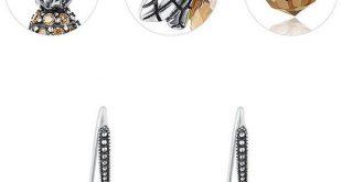 Cute Zircon Personality Animal Stud Earrings Little Bee Lady Earrings