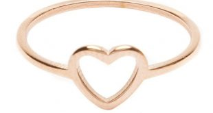 Heart Ring Rose Gold - Happiness Boutique
