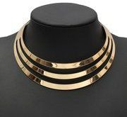 Metal Multi Layer Necklace