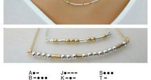 Morse Code Halskette, Name Schmuck, Bridesmaid Schmuck, Geburtstagsschmuck, Halskette für Frauen, Ehefrau Halskette, Hochzeit Geschenk, Mama Halskette