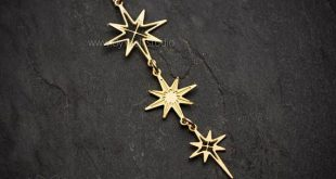 North Star dainty necklace silver star necklace or gold star necklace simple necklace dangle star necklace long star necklace gold star