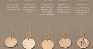 Ultimate Disk Necklace • Personalized Circle Tag Necklace • Engraved Disc Monogram Coin: Hammered, Brushed or Venetian Finish • LN213_V
