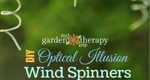 VIDEO: Bringen Sie mit einem DIY Windspinner Licht und Bewegung in den Garten
