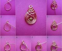 Wire #and #bead #jewelry #tutorials #and #step