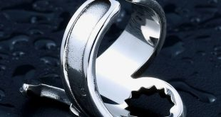 drop shipping Stainless Steel Punk Biker Opening Motorcycle Jewelry Fashion Simple Ring unique jewelry for man BR8-400