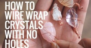 • How To Wire Wrap Crystals and Stones Without Holes • Pendants • Day 6 of...