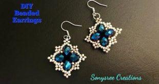 (15) Schnell & einfach Perlen Ohrringe EarringsDIY Perlen Ohrringe zu machen. Wie man