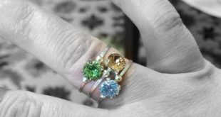 Topaz Ring Swarovski Crystal Ring Wire Wrapped Jewelry Handmade Jewelry Swarovski Solitaire Ring Stackable Ring