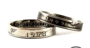 1965-1998 Washington Quarter Ring - Stacking Ring - Stackable Coin Ring - Unique Birthday Gift
