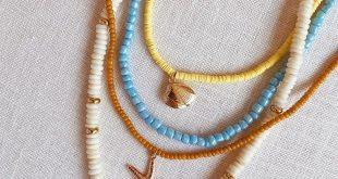 25 + › DIY Perlen Muschelketten – Ehrlich gesagt WTF