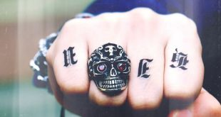 316L Stainless Steel Man Skull Ring Unique Designed Halloween Party Punk Rock Jewelry BR8-005