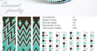 Bead crochet pattern seed bead bracelet tutorial pdf beading master Class jewelry make necklace Crochet Rope PDF tutorial geometric zigzag