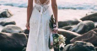 Brautkleider am Strand