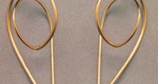 DIY Idee - einfache Drahtohrringe SUZANNE ESSER-NL  DIY idea – simple wire ear... -  #DIY #dr...