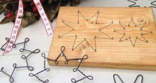 DIY Iron christmas stars easy to make decoration tips