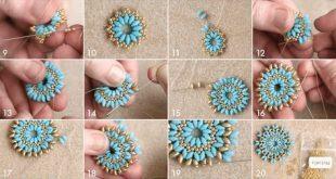 DIY Mandala Halskette und Ohrringe - I-Beads Blog