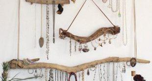 Driftwood Jewelry Organizer - Made to Order Jewelry Hangers - Pick the Driftwood - Boho Decor Storage Jewelry Holder Hanging Jewelry Display