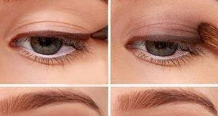 Ein einfaches natürliches Augen-Makeup, das jeder tun kann. Schritt für Schritt Augen Make-up Anleitung. Diese Seite