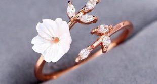 Frühling Hochzeit Sakura Blossom Ring - Schmuck den du brauchst - #Blossom #b...