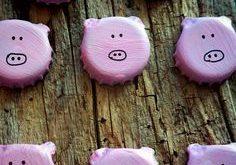 Glücksbringende Saubande …Brot statt Böller