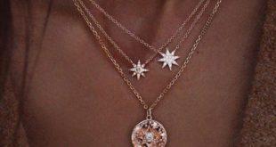 Goldener Stern Anhänger Halskette - jewelry - Goldener Stern Anhänger Halske...
