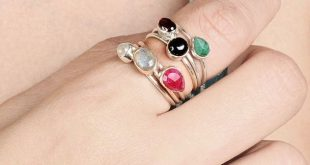 Jewelry Multi Gemstone Stacking Ring, 925 Sterling Silver Stack Rings, Emerald Ruby Ring, Rings Set, Stackable Ring, Thin Bands, Stone Ring, Women