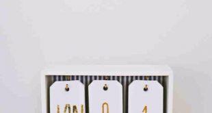 MADDIE Beste DIY-Geschenke für Mädchen – DIY-Ombre-Kalender – Niedliche Bastelarbeiten und
