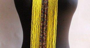 Maasai jewelry-African Jewelry-Tribal Necklace-African Maasai Beaded Necklace-Statement Necklace-Maa
