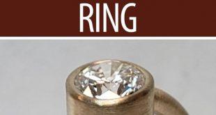 Making a Simple Bezel Set Ring