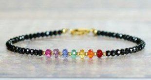 Rainbow Gemstone Chakra Bracelet