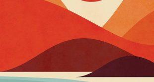 Seaside Art Print by Jay Fleck - #art #Fleck #Jay #plakat #print #Seaside