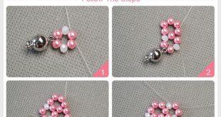 Süßes Mädchenarmband DIY mit Pandahall Elite Perlen