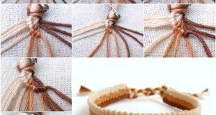 Wundervolles DIY Simple Woven Armband - #Armband #geschenk #einfach #wunderhaft #gewebt
